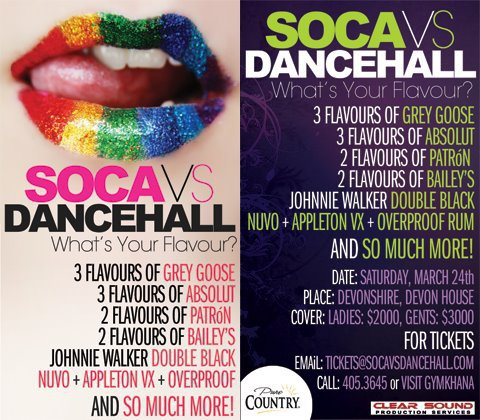 Soca Vs Dancehall Full Got Soca with a splash of Dancehall?