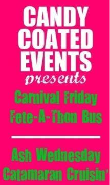 Candy Coated Events Friday Party Bus (Blue range/AMBush Jouvert)