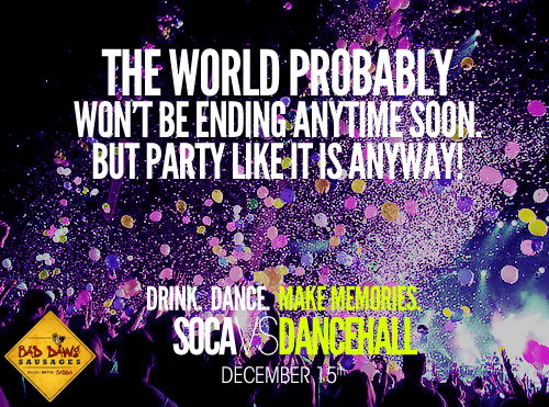 December 2012 soca fete list for Jamaica…Updated!