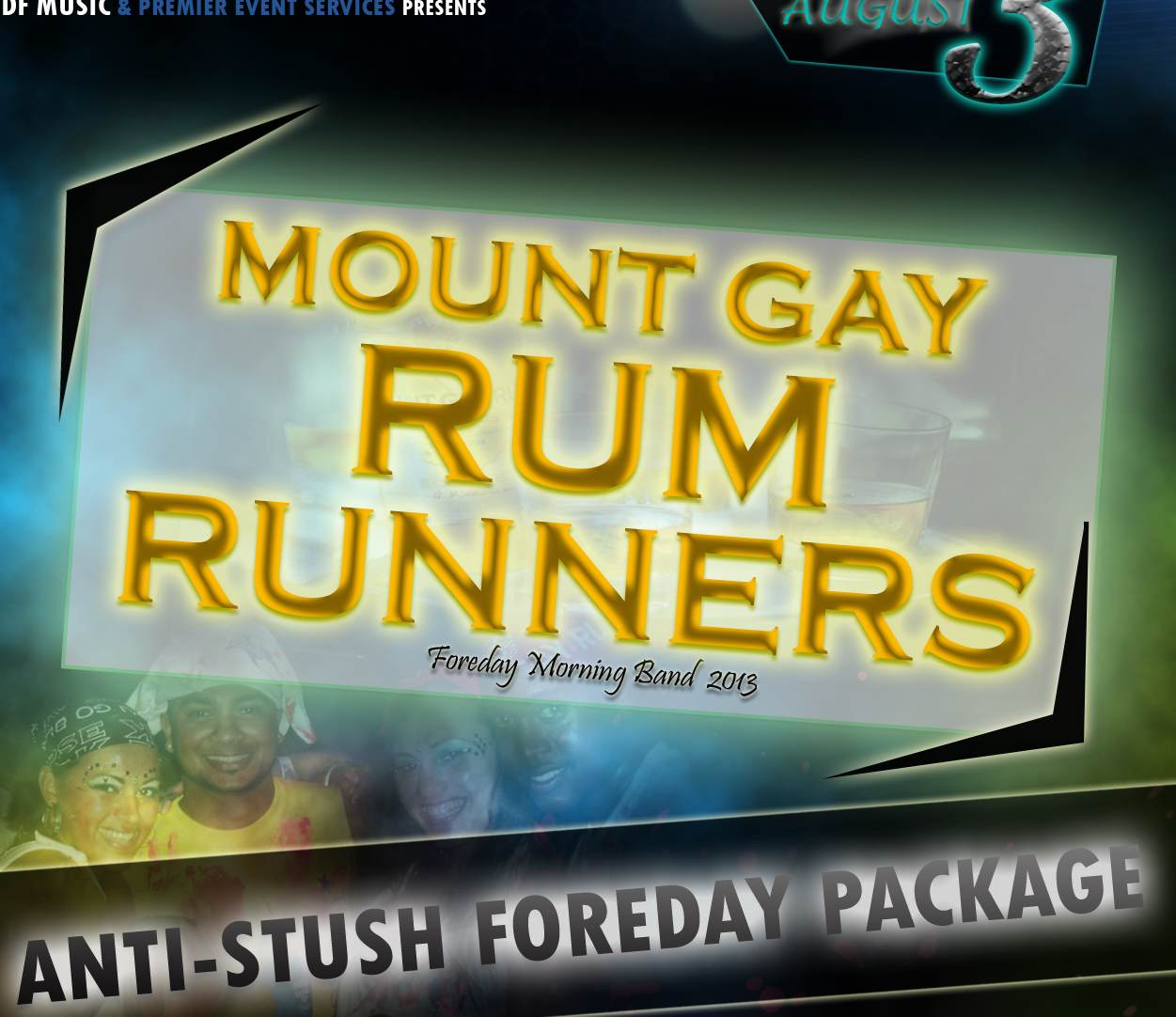 Foreday morning bands – Mount Gay Rum Runners