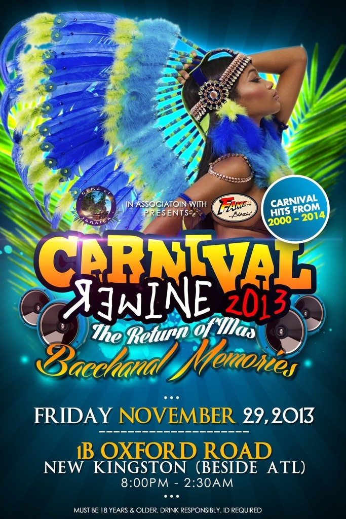 Where to fete for November, 2013. Jamaica.