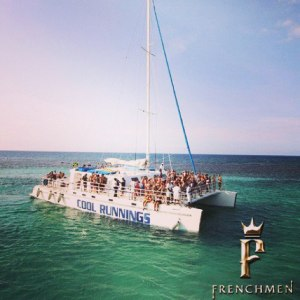 We will arrive early enough for us to get on the catamaran.